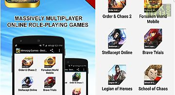 Mmorpg games - best of android