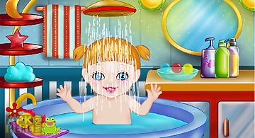 Baby bath games for girls