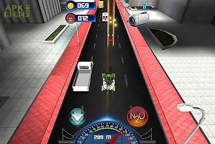 bike traffic race: atv quad