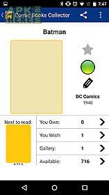 comic books collector