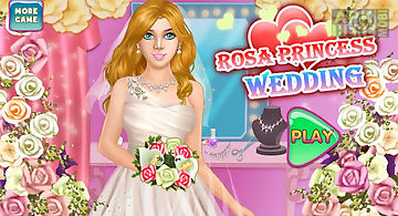 Rosa princess wedding