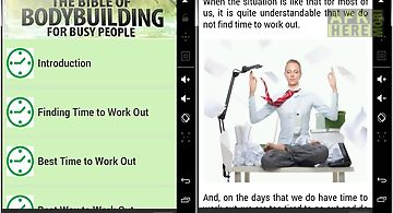 Bodybuilding for busy people