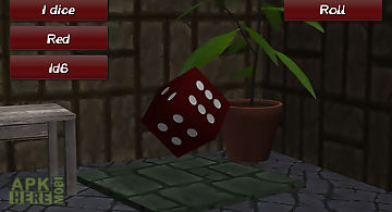Dices roller 3d