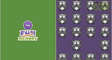 Fun memory games
