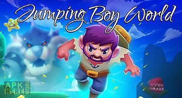 Jumping boy world