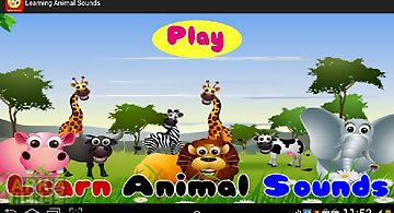 Learning animal sounds