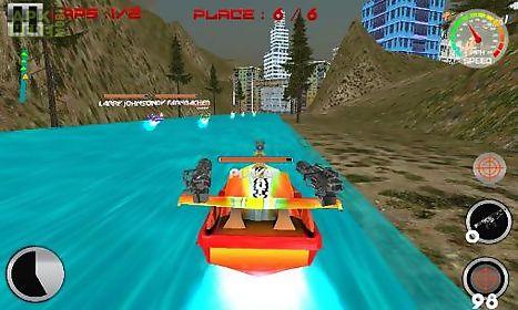 power boat: war race 3d