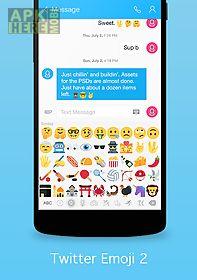 new emoji 2. 0 for twitter