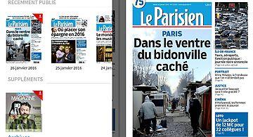 Nouveau journal le parisien