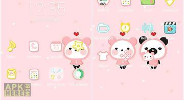 Panda-apus launcher theme