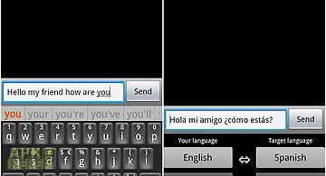 Translating keyboard 2