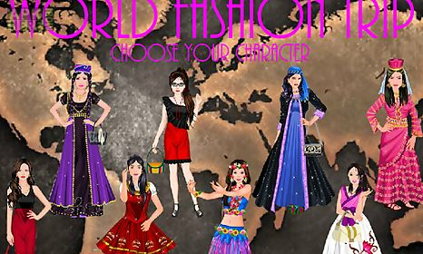 world fashion trip - girl game