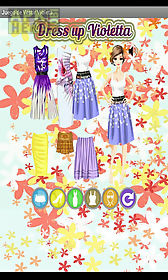 dress up violeta