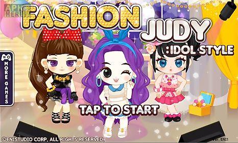 fashion judy: idol style