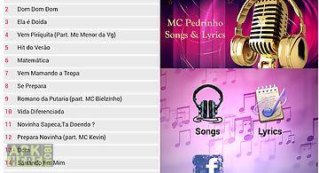 Mc pedrinho songs & lyrics