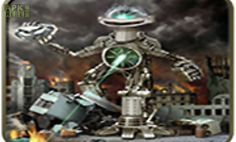 robot game city attack 3d