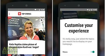 The mirror app: world news