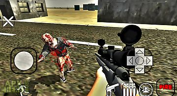 Zombie shot