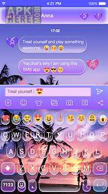 color beach emoji keyboard