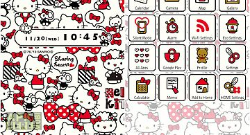 Hello Kitty Launcher Home For Android Free Download At Apk Here