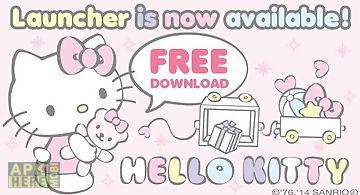 Hello kitty launcher baby bear