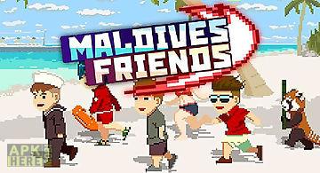 Maldives friends: pixel flappy f..
