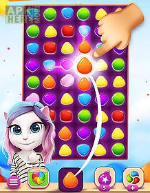 Talking angela color splash for Android free download at Apk