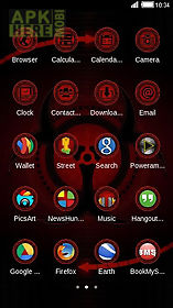 Abstract Red Black Cool Theme For Android Free Download At