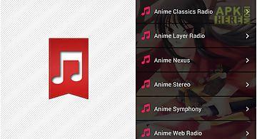 Anime music manga radios free
