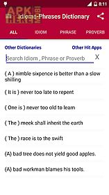 offline idioms dictionary
