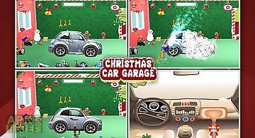 Christmas car garage fun