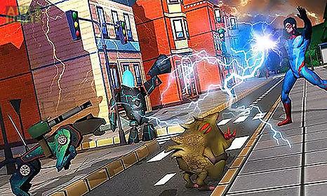 city heroes 3d: aliens war