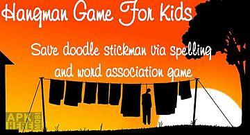 Hangman game for kids - words sa..