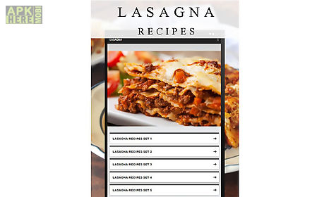 Lasagna recipes for android free download at apk here store lasagna recipes app for android description lasagna recipes free welcome in this application you will have many tasty recipes for you easy use and forumfinder Gallery