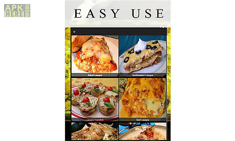 Lasagna recipes for android free download at apk here store lasagna recipes app for android description lasagna recipes free welcome in this application you will have many tasty recipes for you easy use and forumfinder Images