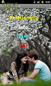 life and relationship