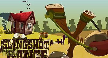 Slingshot range: golden target