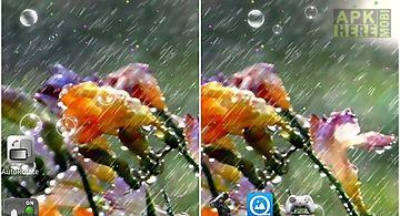 Live rain wallpaper
