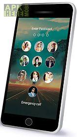 photo passcode lock screen