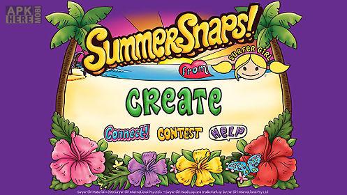 summer snaps photo sticker app