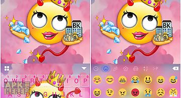 Swag emoji kika keyboard theme