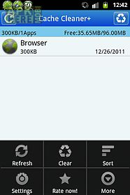 cache cleaner +