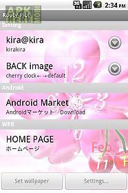 cherry*livewallpaper trial