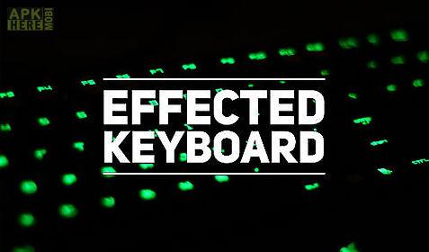 effected keyboard