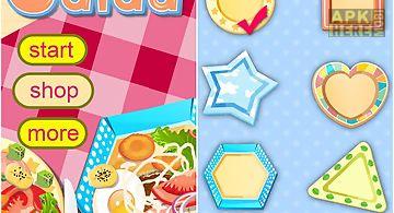Salad maker-cooking game