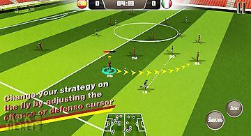 Soccer striker 15