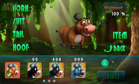 angry bull 3d attack