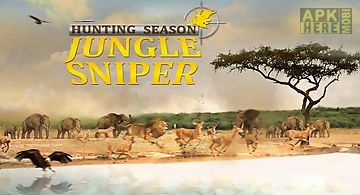 Hunting season: jungle sniper