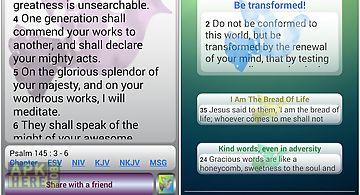 Uplifting psalms daily