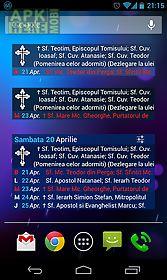 calendar ortodox cu widget